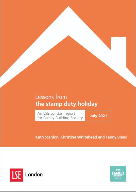 LSE Stamp Duty holiday report 2021 cover